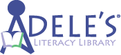 Adele's Literacy Library Logo